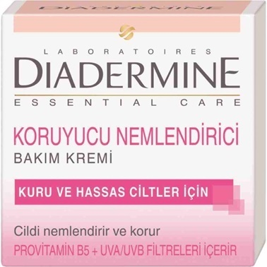 Diadermine Essential Care Koruyucu Nemlendirici Krem 50ml Renksiz